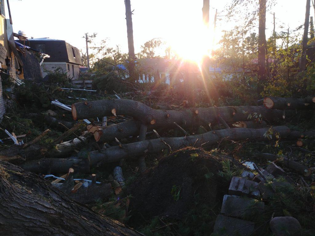 tornado damage engineering inspection